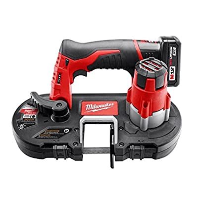 Milwaukee 2429-21XC M12 Cordless Sub-Compact Bandsaw Kit from Builders World Wholesale Distribution