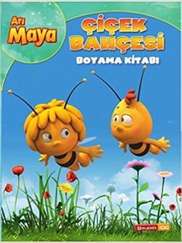 Ari Maya Cicek Bahcesi Boyama Kitabi Collective 9786050925210