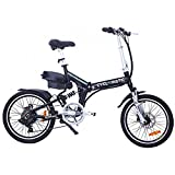 Cyclamatic CX4 Pro Dual Suspension Foldaway E-Bike Electric Bicycle Black