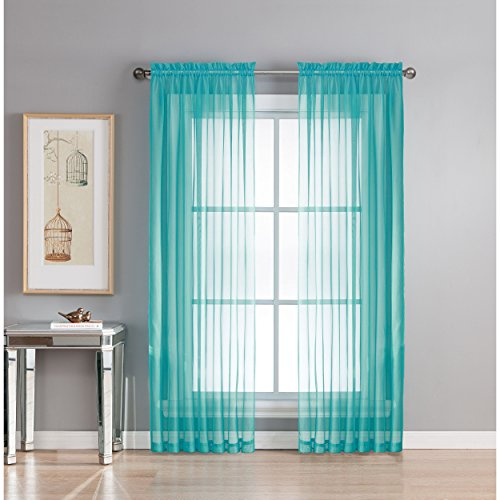 Window Elements Diamond Sheer Voile Extra Wide