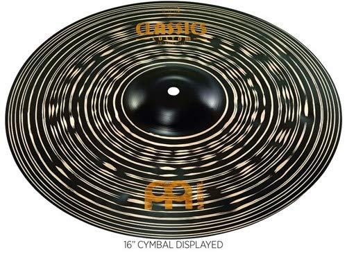 """Meinl 16"""" Crash Cymbal - Classics Custom Dark - Made in Germany, 2-YEAR WARRANTY (CC16DAC) from Meinl Cymbals"""
