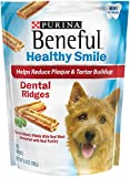 Purina Beneful Healthy Smile Dental Ridges Mini Dog Treats - 8.4 oz. Pouch - Pack of 5