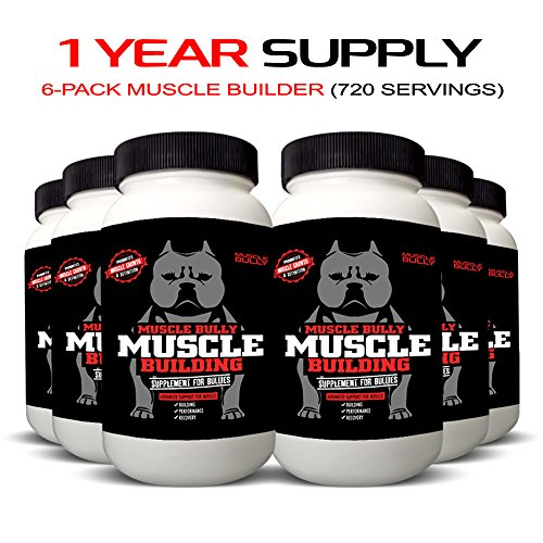 Muscle Building Supplement for Bullies – 1 Year Supply (6 Pack) Review