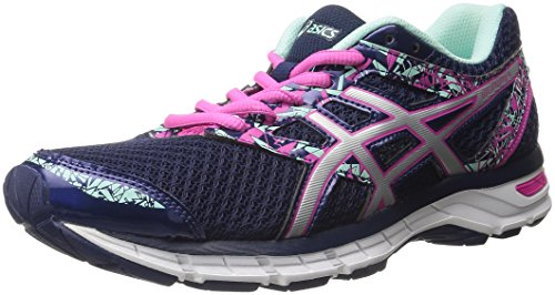 ASICS Women's Gel-Excite 4 Running Shoe, Blueprint/Silver/Mint, 9 D US