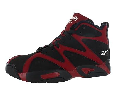 Reebok Kamikaze I Mid Basketball Shoes - Red Black White - Mens (14 ... 25bf70fa1
