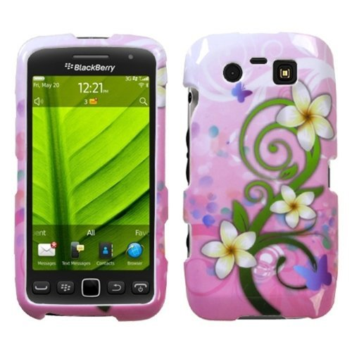 MYBAT BB9850HPCIM757NP Slim and Stylish Protective Case for BlackBerry Torch 9850 - 1 Pack - Retail Packaging - Tropical Flowers