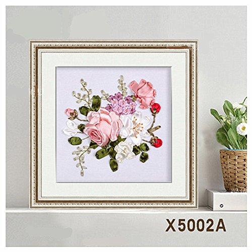 Egoshop silk ribbon embroidery spring flower blooming kit
