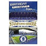 Chelsea FC Pop Up Stadium Birthday Card