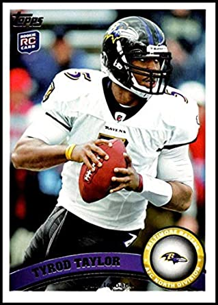 new style e34d0 72d6e Amazon.com: 2011 Topps #14 Tyrod Taylor NM-MT RC Rookie ...