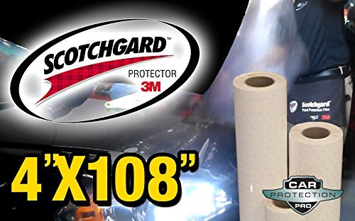 (3M Scotchgard Clear Surface Protection Bulk Film Roll 4-by-108-inches)