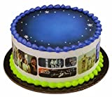 Star Wars Galaxy Designer Cake Side Strips by Whimsical Practicality