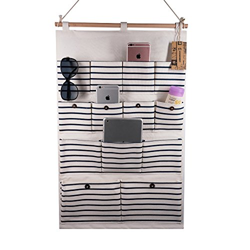 VIVIMONKEY Hanging Organizer with Pockets Fabric Wall, used for sale  Delivered anywhere in USA