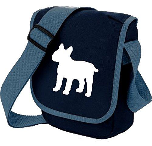 Colours Bull Dog Bag Mini Reporter Shoulder Bull English of Gift White Terrier Terrier Bag Choice Blue YwqTx4P
