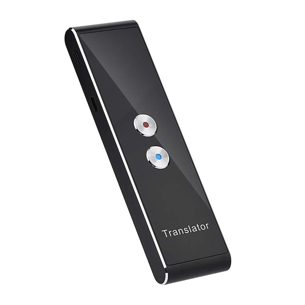 fosa Portable Voice Language Translator, Bluetooth 2.4G Smart Pocket Interpreter Intelligent Real Time Speech Multilingual Translator