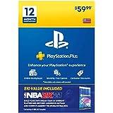 PS Plus 12 Month & NBA 2K21 Jumpstart Pack Bundle [Digital Code]