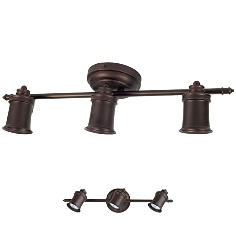 3 bulb wall or ceiling mount track light fixture kitchen and dining 3 bulb wall or ceiling mount track light fixture kitchen and dining room oil rubbed workwithnaturefo