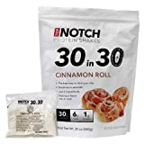 "Top Notch ""30 in 30"" Protein Shakes (Cinnamon Roll) Best Way to Start Your Day. ONLY 5 INGREDIENTS & GUARANTEED to Be a Delicious & Filling Drink- Great Instant Breakfast Meal Replacement to Lean up and Lose Bodyfat- High in Fiber, Low in Sugar & Carbs, Gluten-Free and All-natural Flavors (20 Individual Packets)"