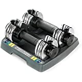 ProForm Select-a-Weight Dumbbells in Grey (Set of 2)
