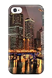rebecca slater's Shop New Style Defender Case For Iphone 4/4s, Metropolis At Night Pattern