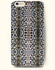 Blue And Black Snake Skin Print - Animal Print - Phone Cover for Apple iPhone 6 Plus ( 5.5 inches ) - OOFIT Authentic iPhone Case