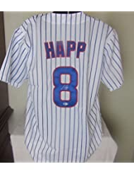 IAN HAPP AUTOGRAPHED SIGNED CHICAGO CUBS JERSEY
