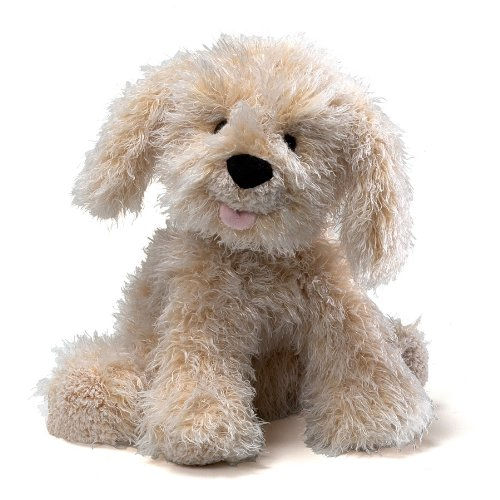 Gund Karina Labradoodle Dog Stuffed Animal - White Stuffed Animal Dog