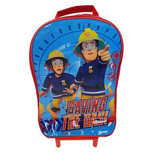 Fireman Lunch (Character Fireman Sam 'Saving The Day' Wheeled Bag)
