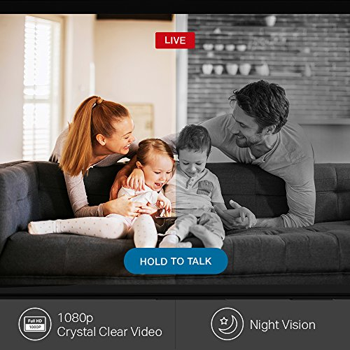 TP-Link Kasa Cam 1080p Smart Home Security Camera, Works with Amazon Alexa (Echo Show/Fire TV Required), KC120 by TP-Link (Image #3)