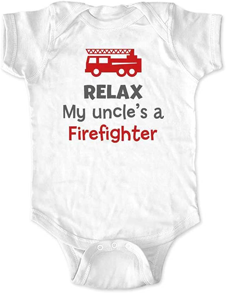Bodysuits Clothes Onesies Jumpsuits Outfits Black HappyLifea Funny Funcle Baby Pajamas