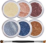 Blue Eyes Intensify Mineral Eyeshadow Kit - 100% Pure All Natural Mineral Makeup - Not Bare Minerals, Bare Escentuals, Mineral Fusion, MAC