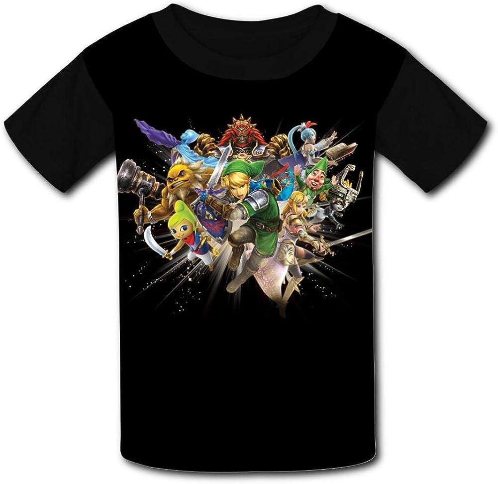 Zel-Da Legend Player Kids T-Shirts Short Sleeve Tees Summer Tops for Youth//Boys//Girls
