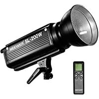 Neewer SMD LED 200W Dimmable Video Light with Built-in LCD Panel, Bowens Mount and Remote Control for Canon, Nikon, Pentax, Panasonic, Sony, Samsung, Olympus and Other Digital DSLR Cameras