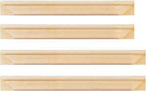 18x22inch Art Stretcher Bars,Solid Wooden Frame for Oil Paintings, Canvas Frame Set, DIY Arts Accessory Supply, Home Studio Decor