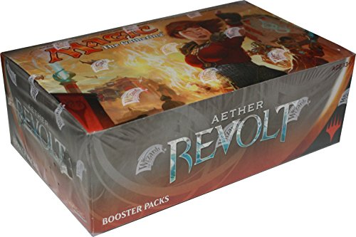 Magic The Gathering: Aether Revolt Sealed Booster Box by Magic: the Gathering