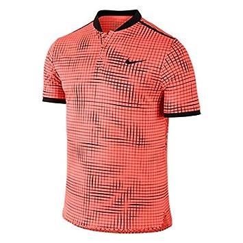 Nike M Adv Premier - Polo manga corta para hombre, color naranja, talla M: Amazon.es: Deportes y aire libre