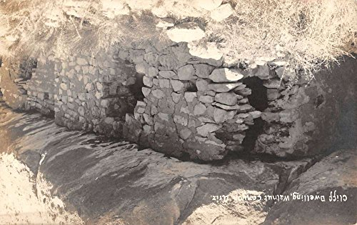 Walnut Canyon Arizona Cliff Dwelling Real Photo Antique Postcard K33737 (Arizona Antique Walnut)