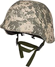 Modern Warrior Tactical M88 Abs Tactical Helmet with Adjustable Chin Strap by, Digital Camo
