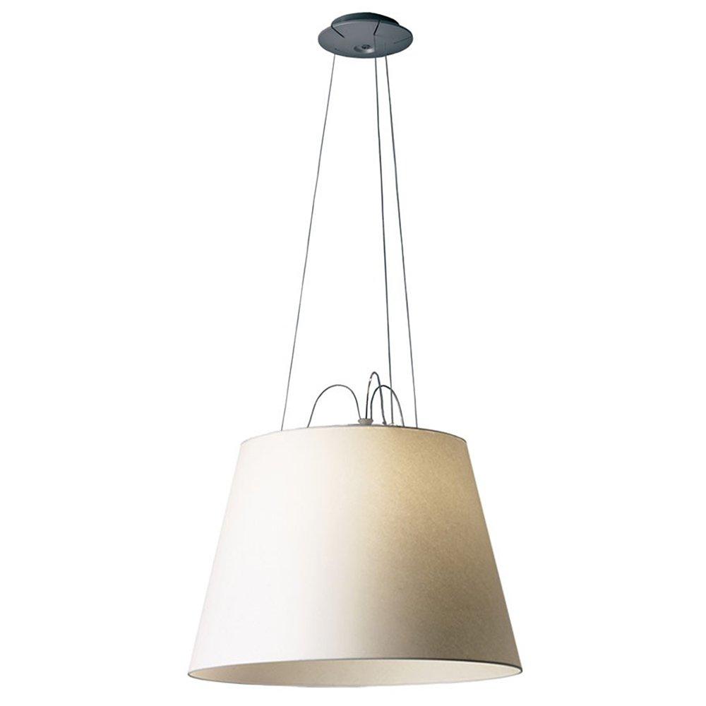 Artemide Tolomeo lámpara de techo E27, 150 W, aluminio y ...