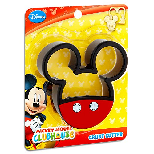 1 X Mickey Mouse Clubhouse Disney Sandwich Decruster Cutter School Lunch Easy Fun by Disney Princess ()