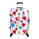 Karabar Dewberry Hard PC Shell Large Suitcase 76 cm 4.5 kg 100 litres 4 Wheels Balloons