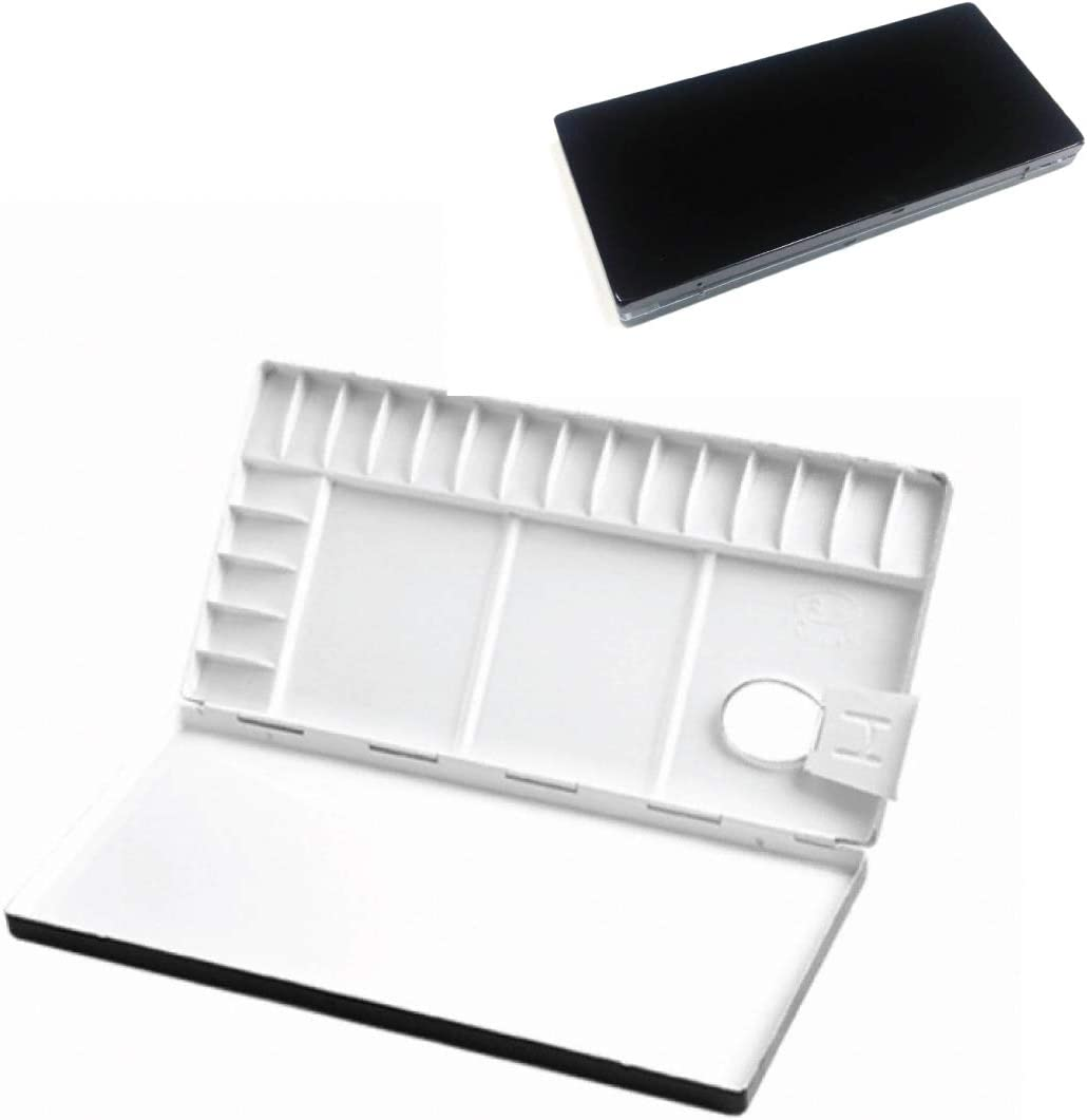 20 Colores-Compartimentos-No-420 Aluminio-Agua-Paleta De Colores