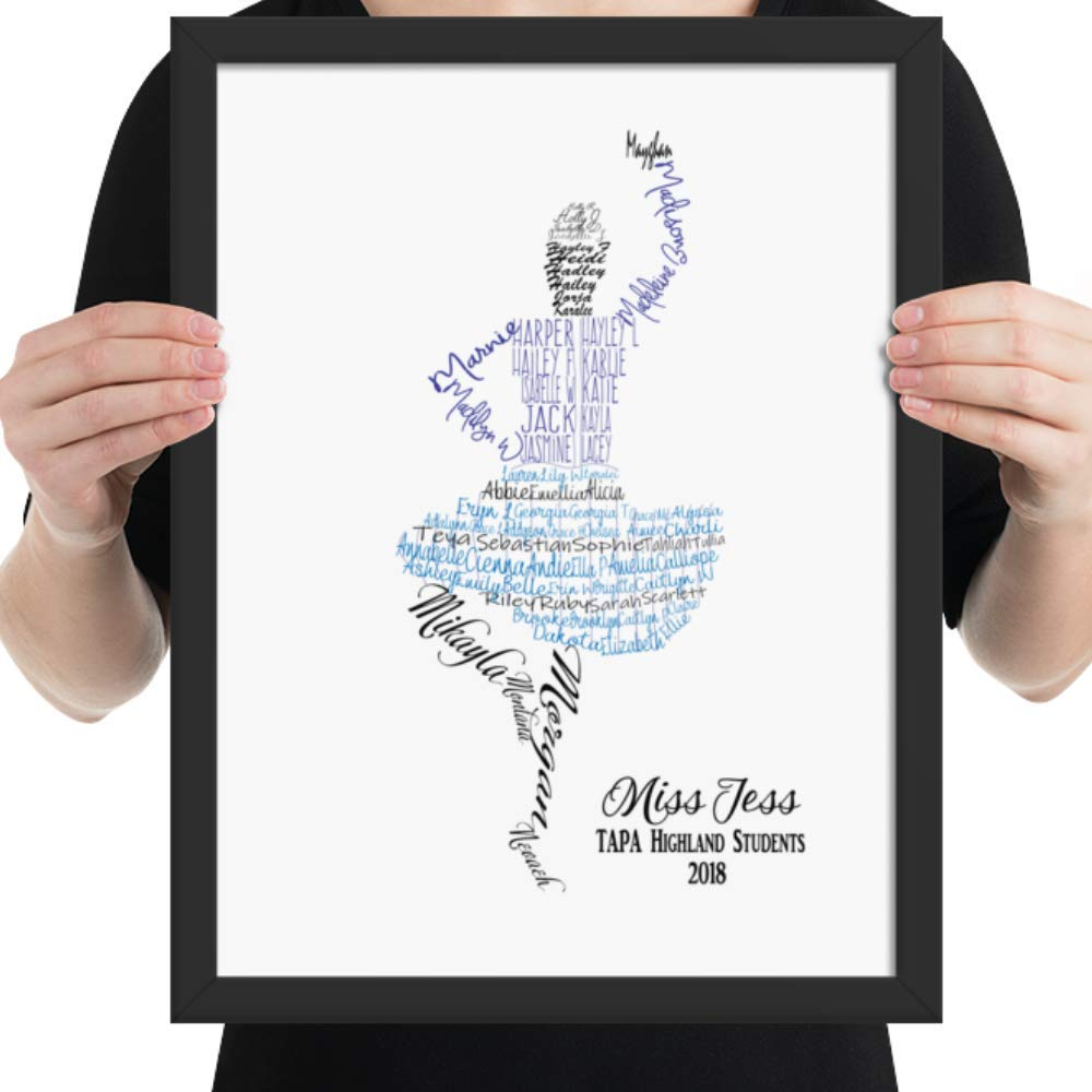 e4c3c032a79cb Amazon.com: Scottish Dance Teacher Gift, Highland Dancer Custom Name ...