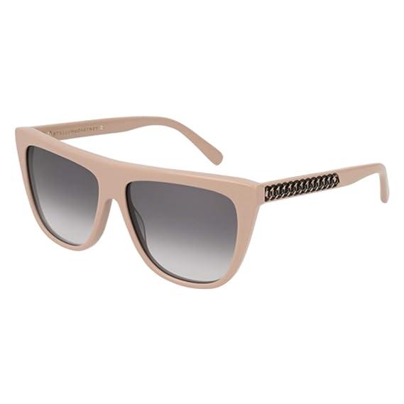 0b593c0e3359 Stella McCartney FALABELLA SC0149S LIGHT PINK GREY SHADED women Sunglasses   Amazon.co.uk  Clothing
