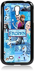 Disney Frozen-Character Collage-Samsung Galaxy S4 I9500 - Hard black plastic snap on case.