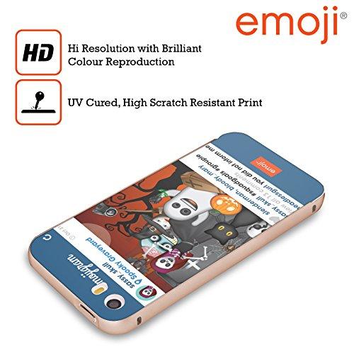 Officiel Emoji Buts d'Équipe Parodies D'halloween Or Étui Coque Aluminium Bumper Slider pour Apple iPhone 5 / 5s / SE