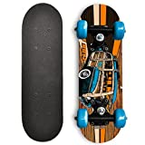Rude Boyz 17 Inch Mini Wooden Cruiser Graphic Beginner Skateboard