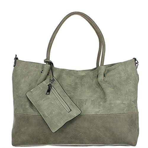 Antonio Damen Shopper grey