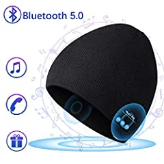 Bluetooth Hat Beanie for Mens