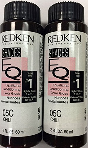 Redken Shades Color Gloss Chili 05C (2-Pack) by REDKEN