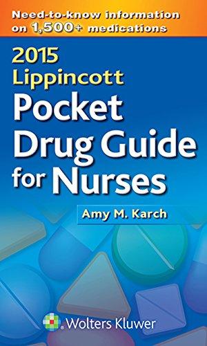 Download 2015 Lippincott Pocket Drug Guide for Nurses Pdf